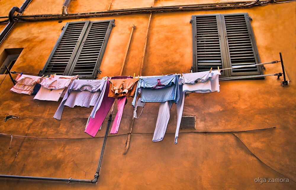Laundry Day by olga zamora