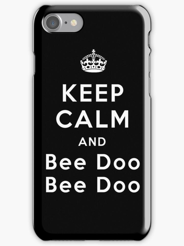 Keep Calm and Bee Doo Bee Doo by poppyflower
