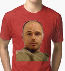 Local Boy Karl Pilkington Tri-blend T-Shirt