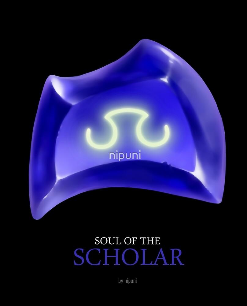 Soul of the Scholar -black by nipuni