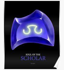 Soul of the Scholar -black Poster