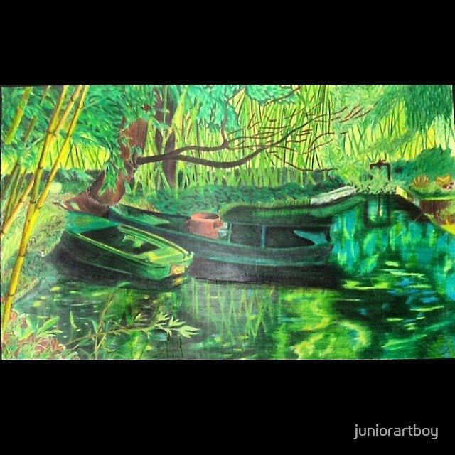 Garden of Green by juniorartboy