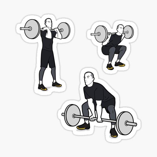 Barbell Exercises  Sticker