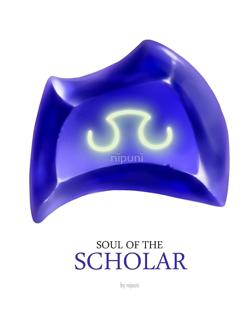 Soul of the Scholar -white by nipuni