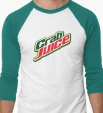 Crab Juice Men's Baseball ¾ T-Shirt