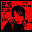 Posse Red  by Chris Moss Acid