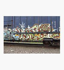 Tagging - Graffiti Photographic Print