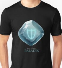 Soul of the Paladin -black Unisex T-Shirt