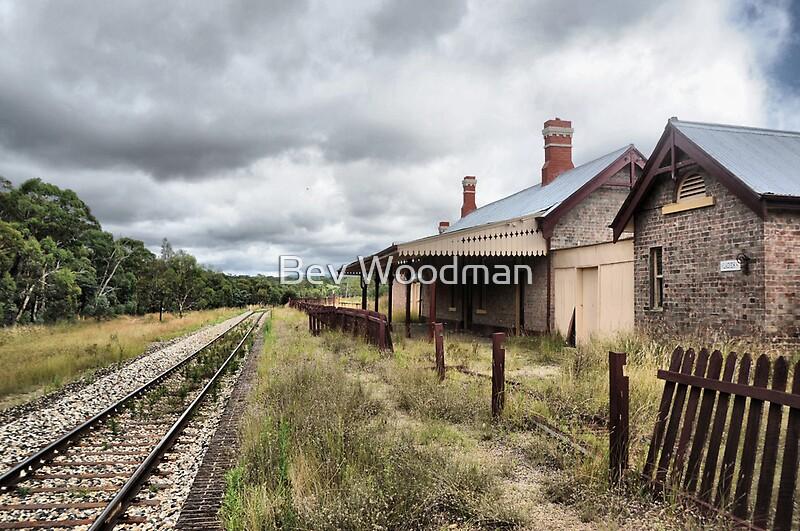 Quot Capertee Railway Station Nsw Australia Quot By Bev Woodman