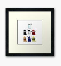 The Daleks Framed Print