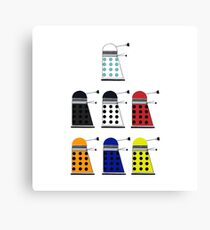 The Daleks Canvas Print
