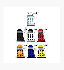 The Daleks Photographic Print