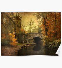 Bridge to Autumn Poster