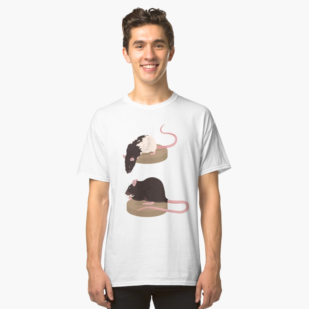 Curious Rat and Brown Rat Classic T-Shirt