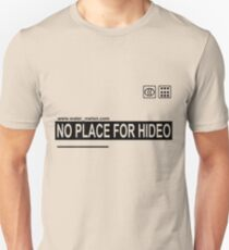 NO PLACE FOR HIDEO (Box Variant) T-Shirt