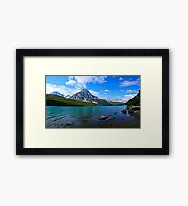 Cloud Volcano Framed Print
