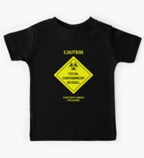 Fecal Containment Vessel Kids Clothes