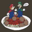 Lotsa Spaghetti! by helloashwee