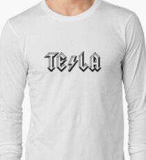 TESLA-AC|DC Long Sleeve T-Shirt