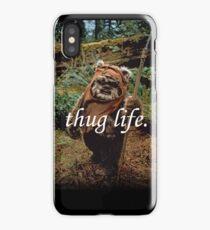 Ewok Thuggin' iPhone Case