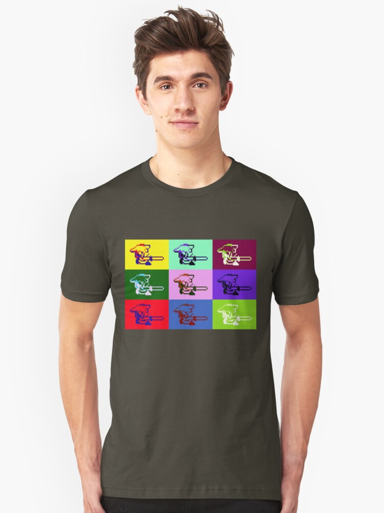 Legend of Zelda: A Link to the Warhol Unisex T-Shirt Front