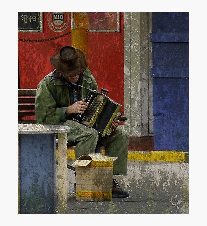 The Musician - Perth CBD - Western Australia Photographic Print