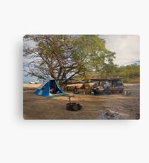 Campsite at Bathurst Head, Qld Metal Print