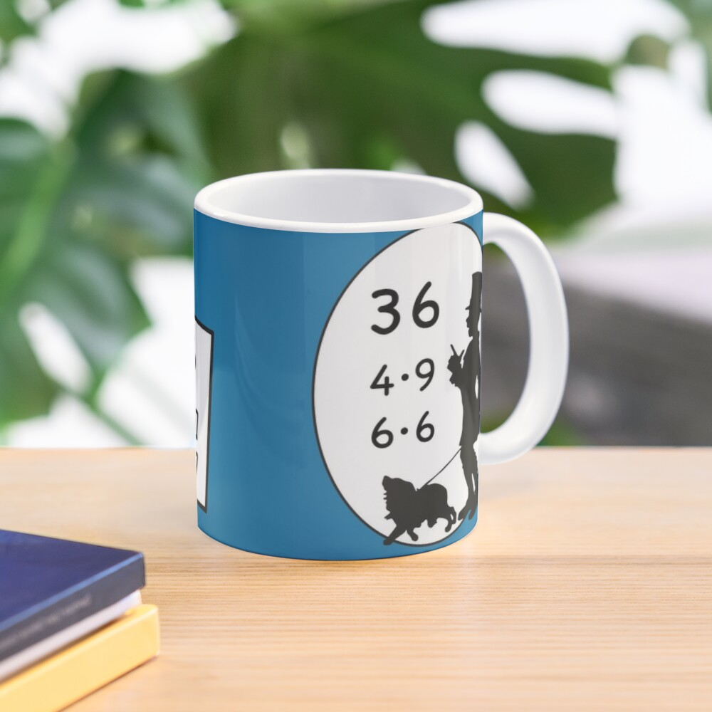 Difficult 1x1 tasks by the way, today the 36 - cocoa with brains - learning with fun Mug
