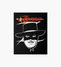 Zorro fan art Art Board Print