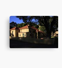 Heritage Building - Rushcutters Bay Canvas Print