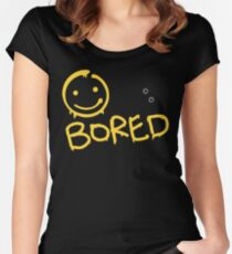 Sherlock - BORED Women's Fitted Scoop T-Shirt