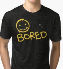 Sherlock - BORED Tri-blend T-Shirt