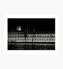 Westminster Art Print