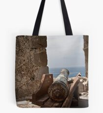 Busted Cannon Tote Bag