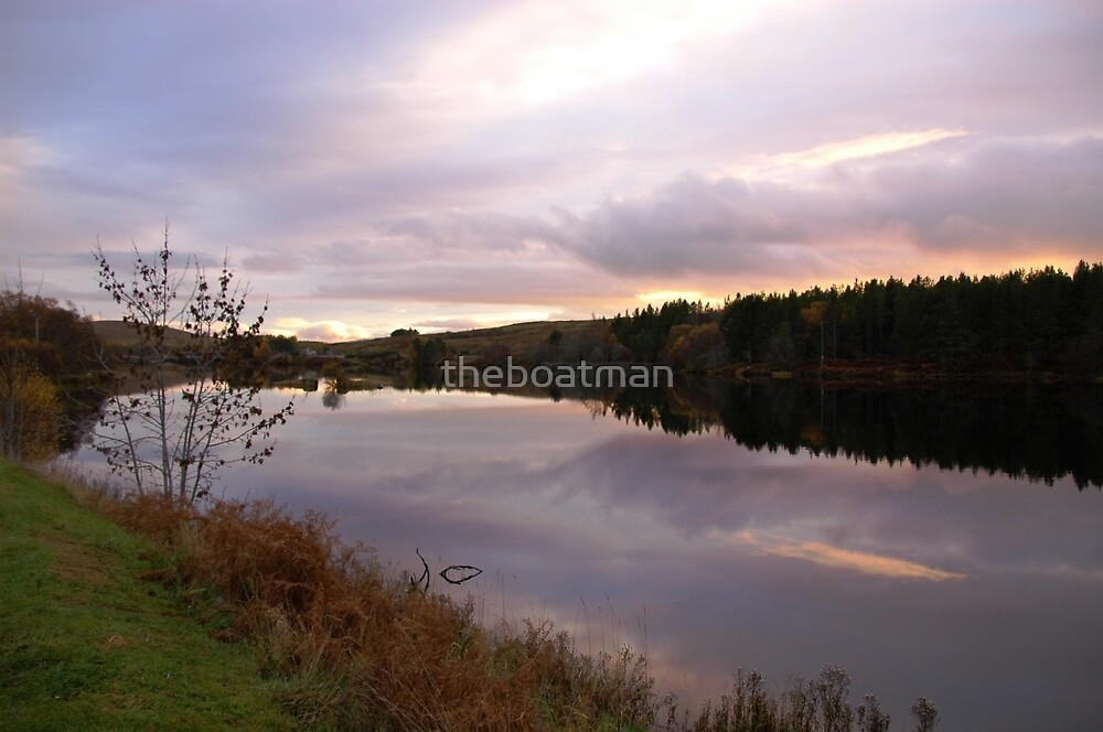Calm sky by theboatman