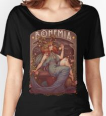 Art Nouveau BOHEMIA Women's Relaxed Fit T-Shirt