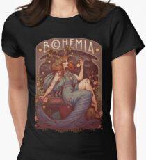 Art Nouveau BOHEMIA Women's Fitted T-Shirt