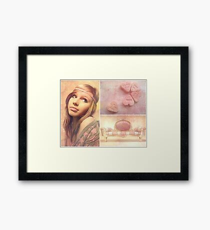 I smell sex and candy... Framed Print