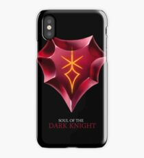 Soul of the Dark Knight -black iPhone Case