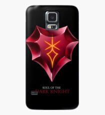 Soul of the Dark Knight -black Case/Skin for Samsung Galaxy
