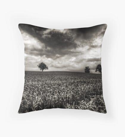 Weizen in der Schweiz Throw Pillow