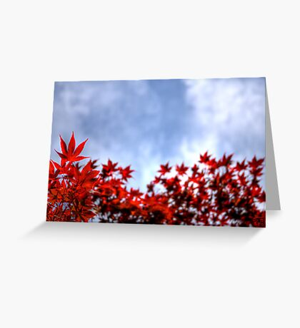 Fire Fingers Greeting Card