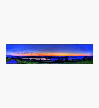 Twilight from Mt Zug - HDR Panorama Photographic Print