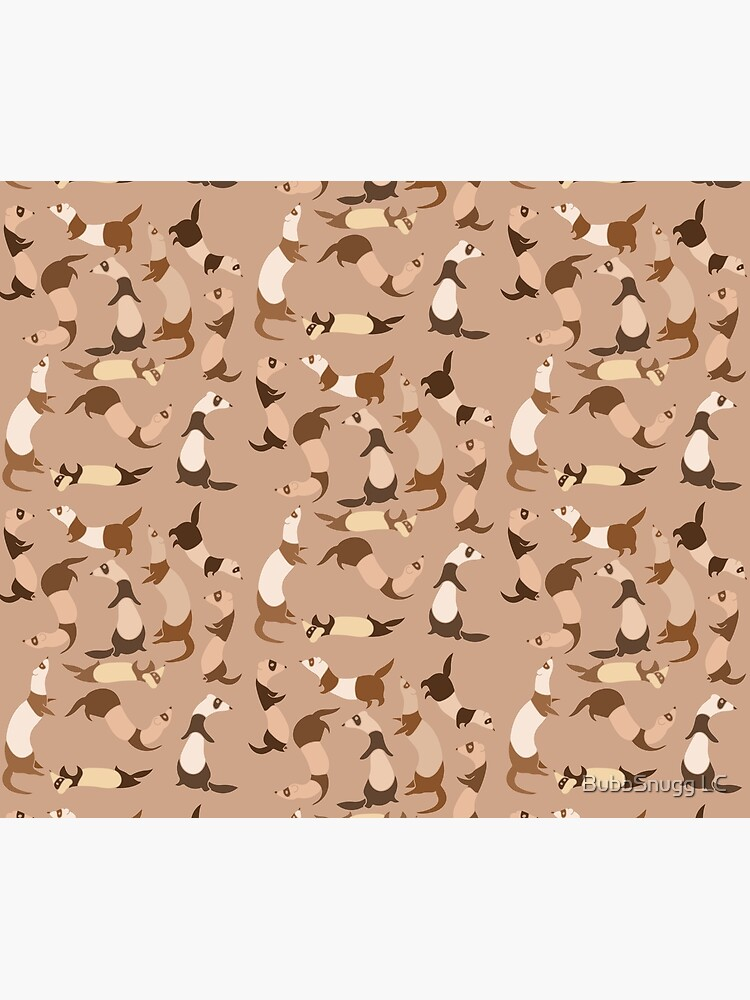 Ferret in light brown by Boogiemonst
