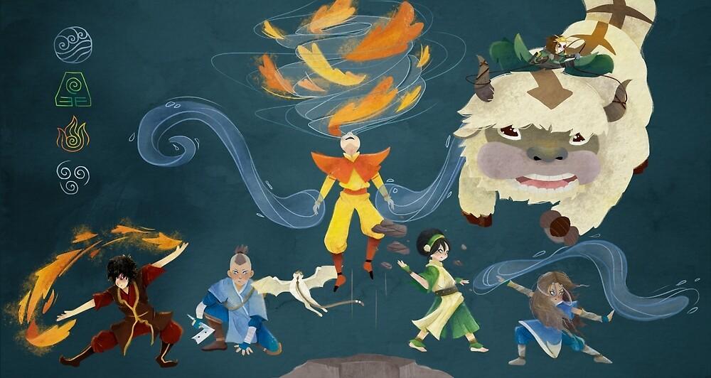 Team Avatar! by txrquoiseocean