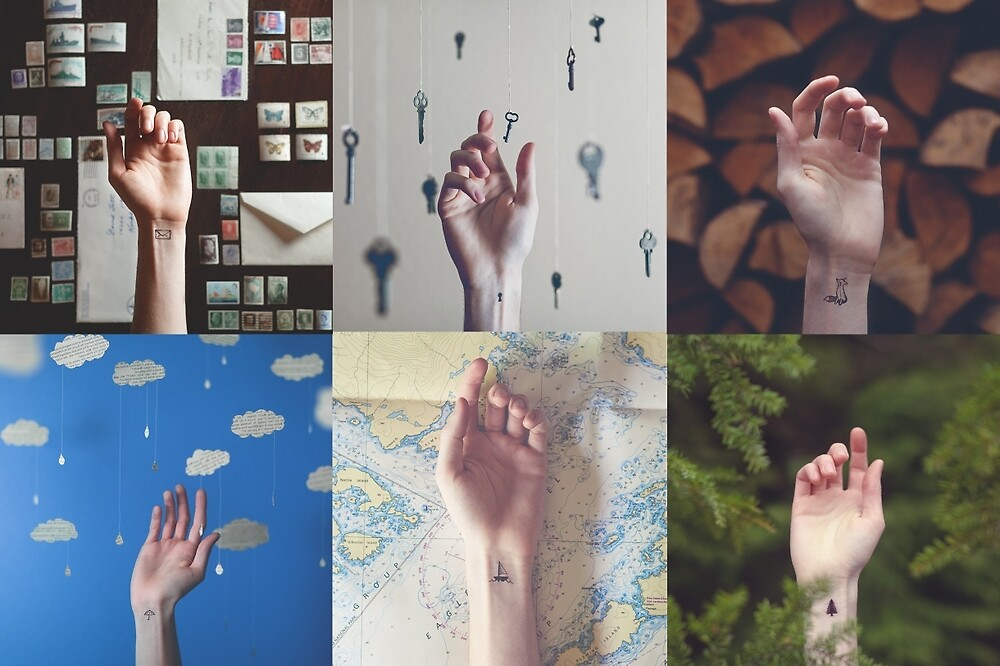 Hands Collage by thathome
