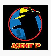Agent P Photographic Print