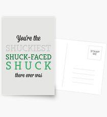 Shuckiest Shuck-Faced Shuck Postcards