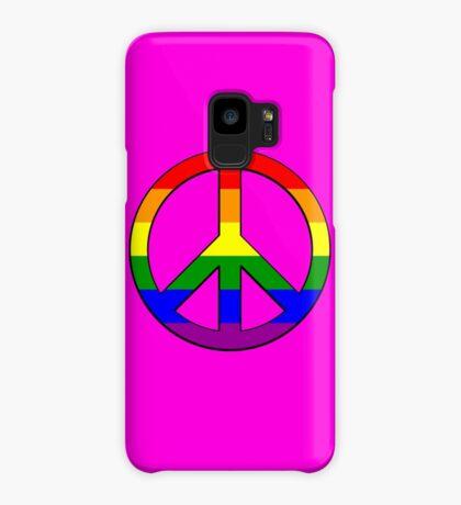 Gay Pride Peace Case/Skin for Samsung Galaxy