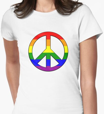 Gay Pride Peace T-Shirt